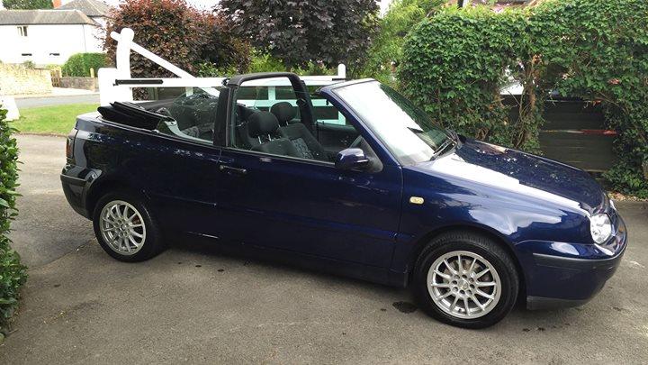 1998 Golf Cabriolet 16 Se Vw Golf Mk2 Oc Cars For Sale