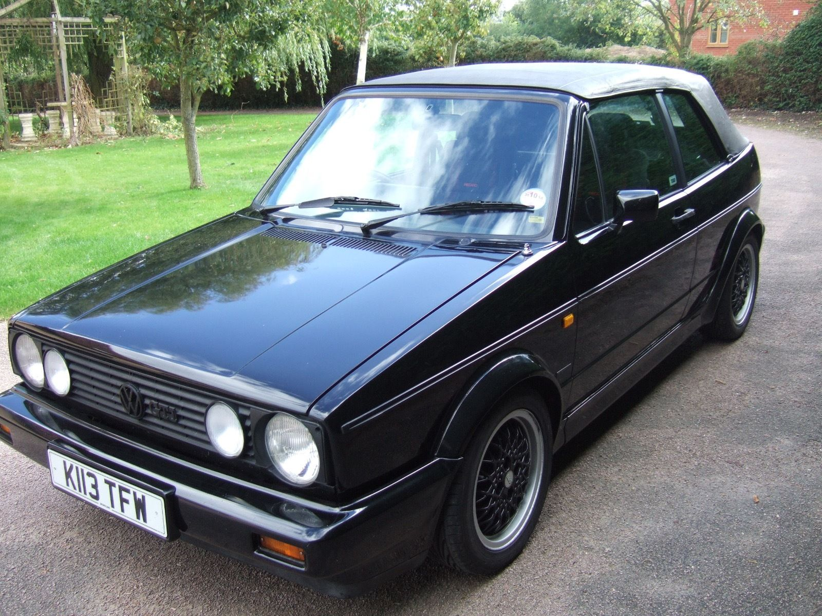 1993 golf cabriolet 1 8 sportline vw golf mk2 oc cars for sale. Black Bedroom Furniture Sets. Home Design Ideas
