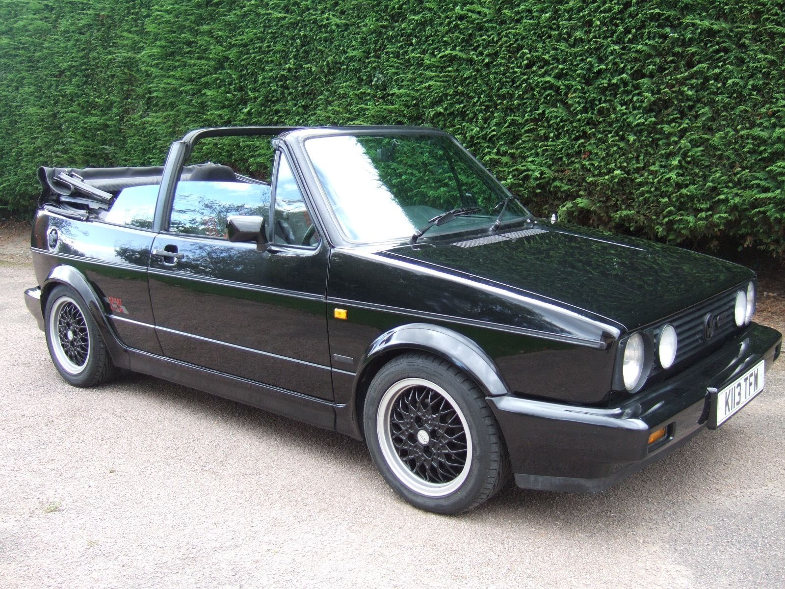 1993 golf cabriolet 1 8 sportline vw golf mk2 oc cars. Black Bedroom Furniture Sets. Home Design Ideas