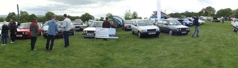 All Types VW Show – Bodelwyddan Castle, North Wales