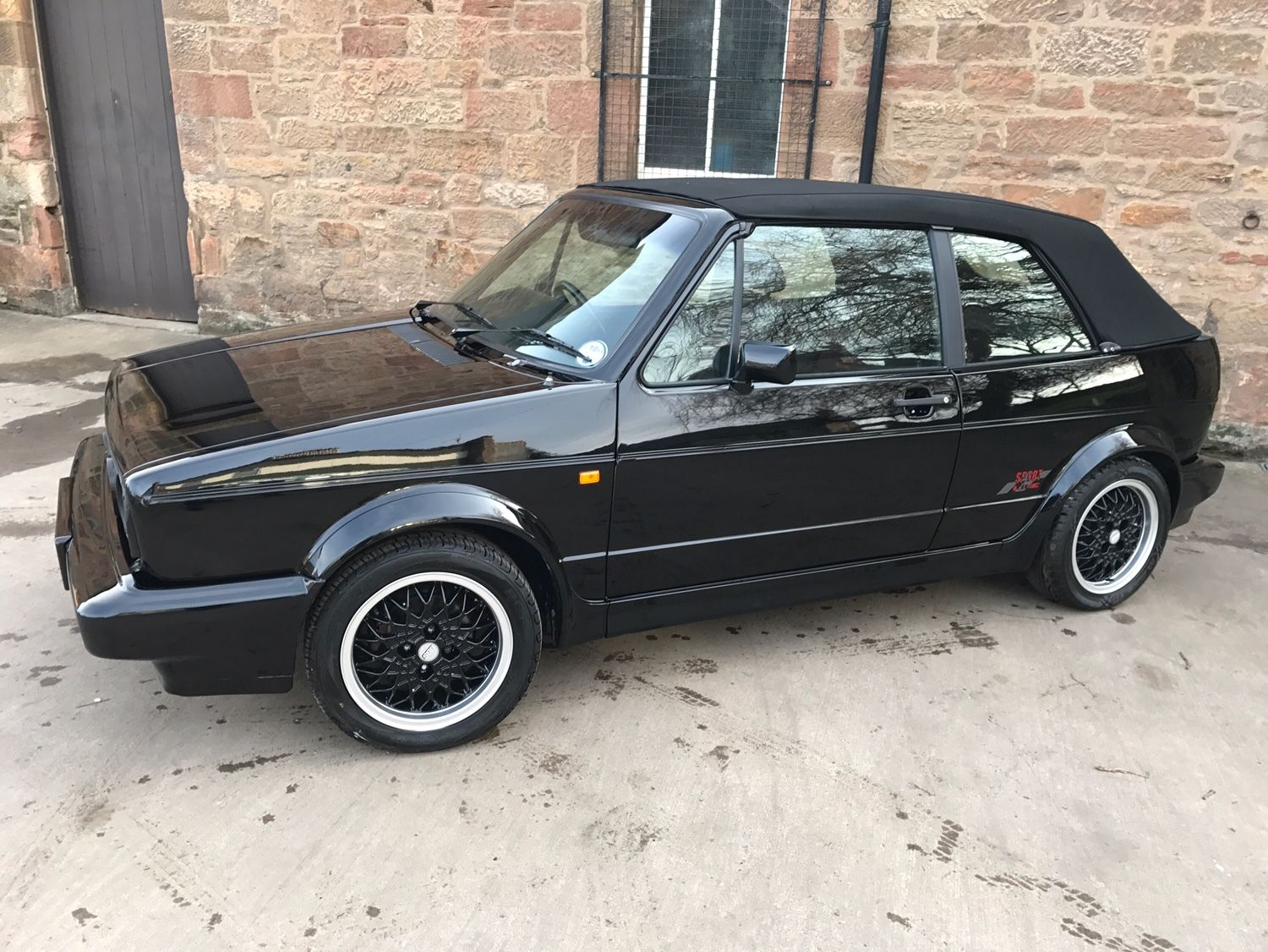 1993 mk1 golf gti sportline cabriolet vw golf mk2 oc cars for sale. Black Bedroom Furniture Sets. Home Design Ideas