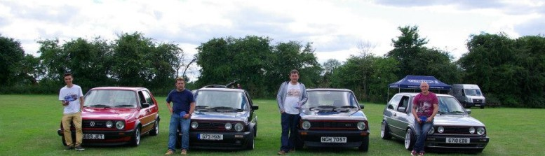 Mk2 Golf OC National Meet – 11th August 2013